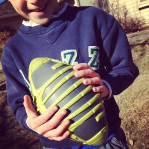 Tiny Football Hands
